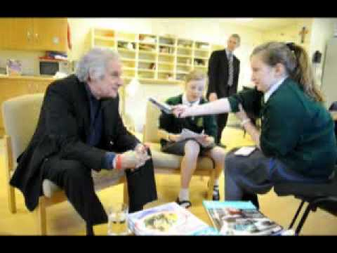 Former Beatles drummer Pete Best tells West Derby school pupils about John, Paul and George