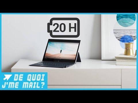 Microsoft promet un PC avec 20H d'autonomie DQJMM (1/2)