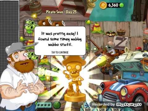 Пират против робота  (Растения против Зомби 2)