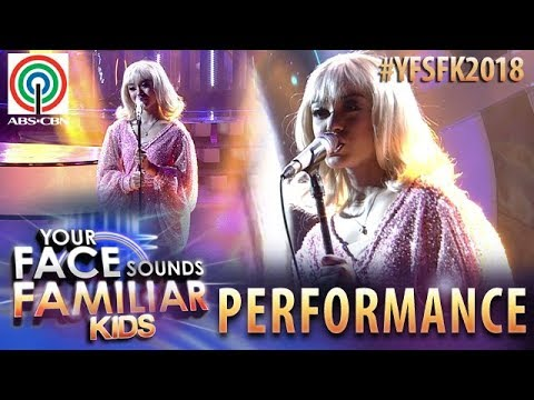 Your Face Sounds Familiar Kids 2018: Sheena as Olivia Newton-John | Hopelessly Devoted To You