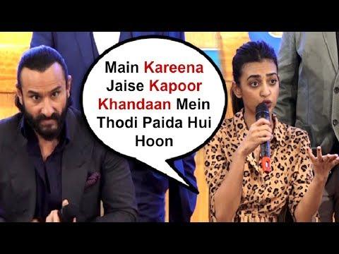 Radhika Apte Take Dig At Kareena Kapoor Over Nepotism In Front Of Saif Ali Khan Mp3