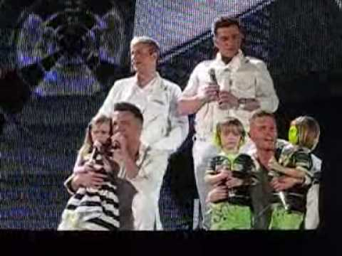Westlife ~ I´m already there ~ Croke Park, 05.06.2010