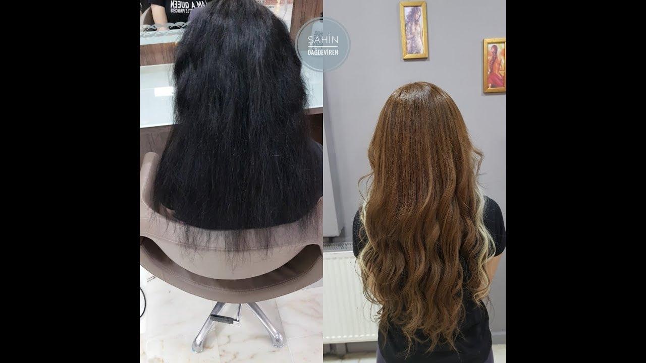 Saçı yakmadan açma işlemi yapmak Olaplex ile mümkün