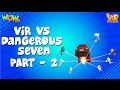 Vir Vs Dangerous Seven Part 02 - Vir : The Robot Boy - Kid's Animation Cartoon Series video