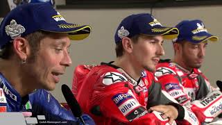 Full Post Race Press Conference Motogp Mugello 2018