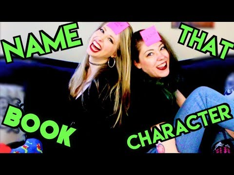 NAME THAT BOOK CHARACTER | POLANDYTASTIC | THE THIRD