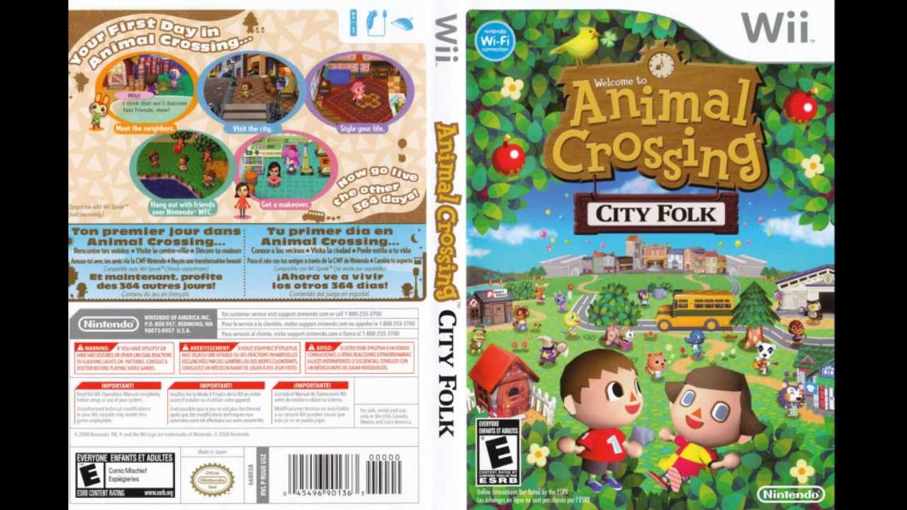Animal crossing city folk soundtrack main menu theme hd for Agrandissement maison animal crossing wii