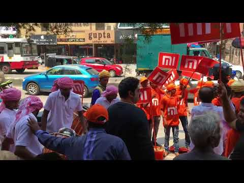 Jabri Marfa 9885938559 Redmi Note 5 launch at Technovision with Mohammed Sikander HYDERABAD road no