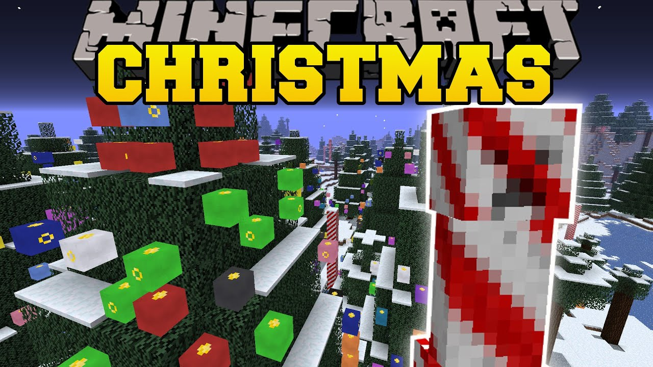 Christmas Decorations In Minecraft Pe : Minecraft christmas decorations learntoride