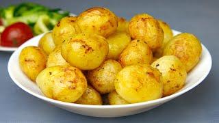Сейчас САМОЕ ВРЕМЯ его готовить! Очень вкусно! ОЧЕНЬ! И очень просто! Молодой картофель!