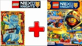 Лего Нексо Найтс Журнал №9. Самоделка LEGO Nexo Knights Летучая мышь - обзор
