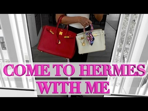 Shopping at Hermes! - Exclusive Private Event | YOU WON'T BELIEVE THIS EYE CANDY!