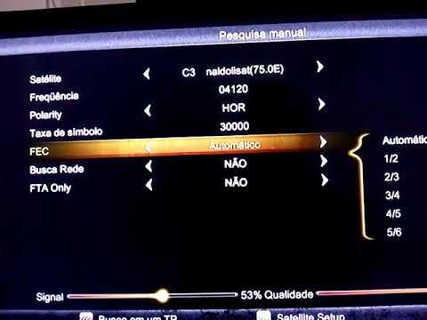 Novo Canal HD Adicionado no Sat C3 Mux Bandeirantes banda c (color bas testes)