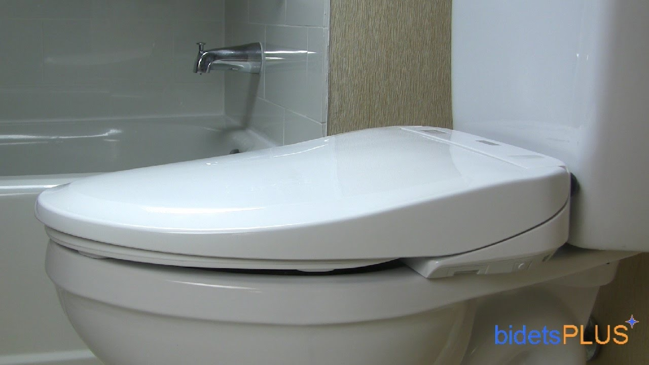 japanese style toilet seat.  Japanese Toilet Seat Comparison bidetsPLUS com YouTube