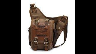 kaukko Men's Canvas Messenger bag
