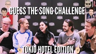GUESS THE SONG CHALLENGE with TOKIO HOTEL | cleotoms