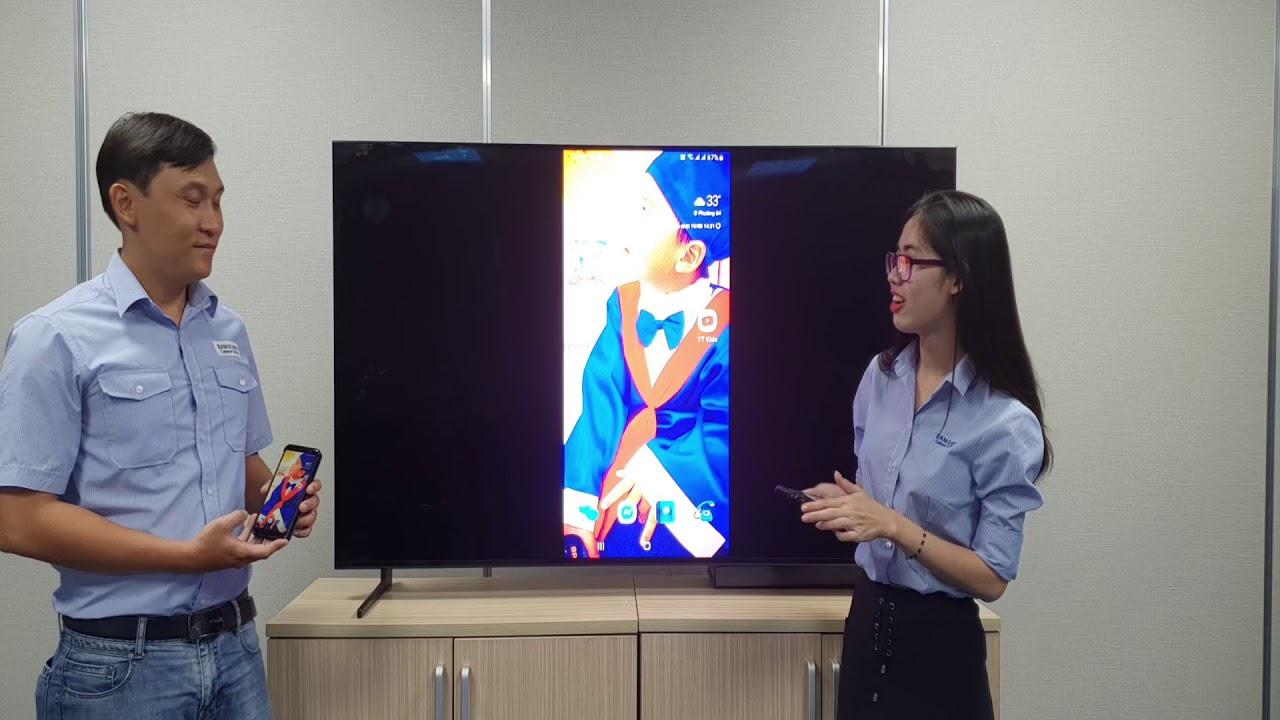 Chiếu màn hình điện thoại lên Tivi Samsung – Điện thoại Android, Iphone (iOS) – [AV] K2TV