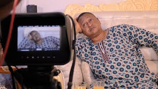 Jide Kosoko On Set Of A Mysterious Movie