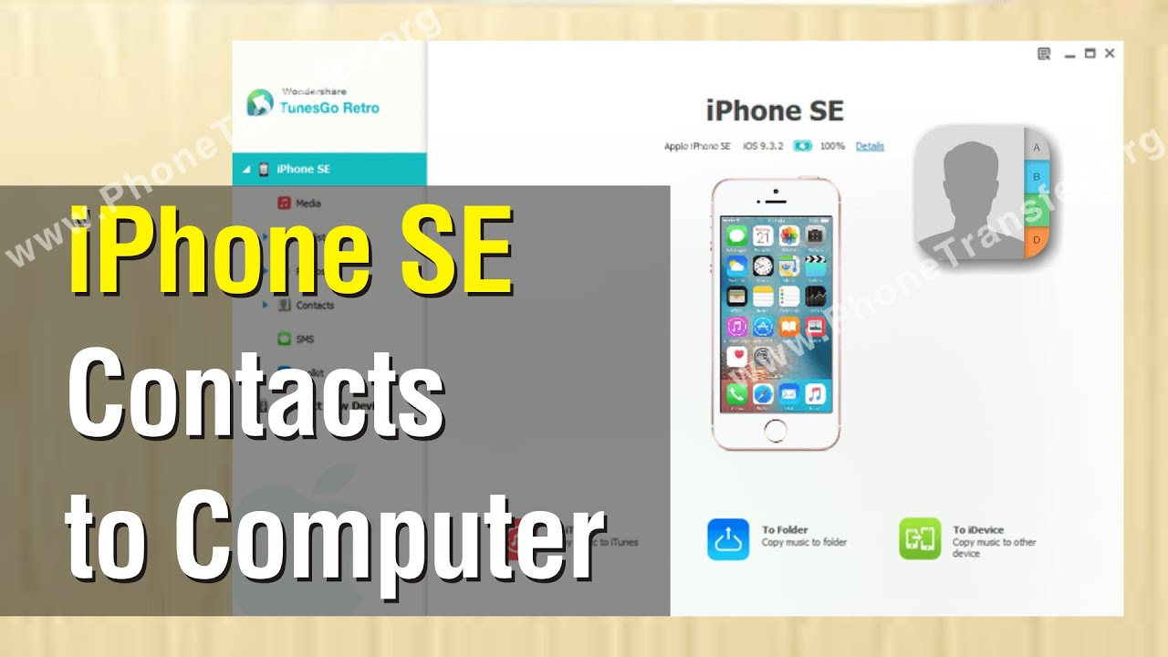 how to backup contacts on iphone how to backup iphone se contacts to computer export 18572