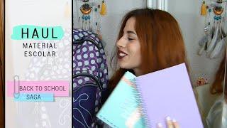 Haul: Material escolar 2015-2016 / School supplies - Back to School | Sandra Eme