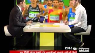 مخلوفي يهدي الفضية للشعب الجزائري ويوجه رسالة قوية إلى المسؤولين عن الرياضة