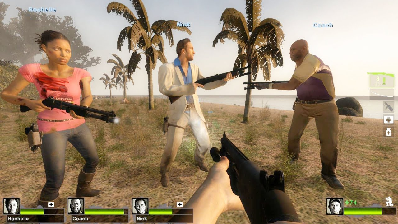 Смотреть видео игры left 4 dead