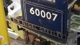 60007 Sir Nigel Gresley overhaul. NRM Sept 2017