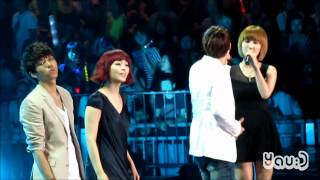 [FANCAM] 120623 Music Bank in Hong Kong (Special Stage) Infinite ft Wonder Girls