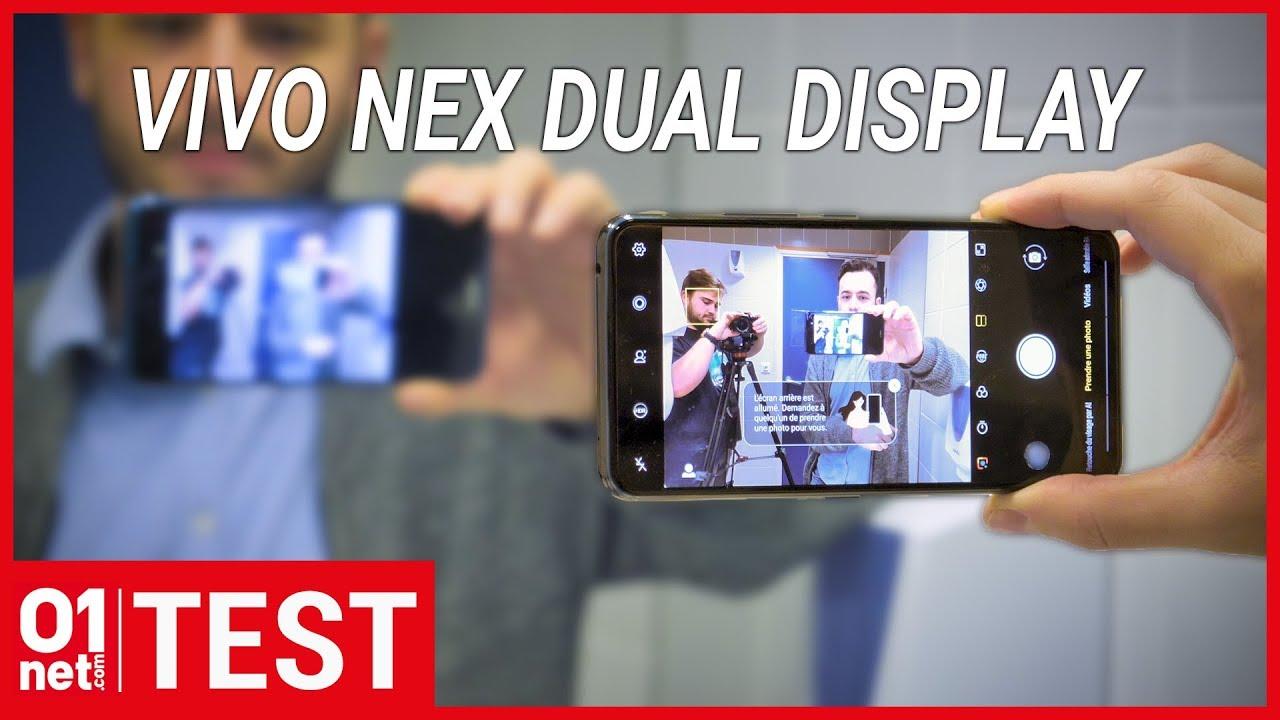 Test Vivo NEX dual display : le smartphone aux deux écrans