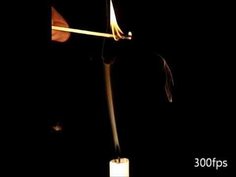 SlowMo Relighting Candle Trick  YouTube