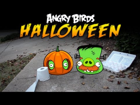 Real Life Angry Birds Seasons