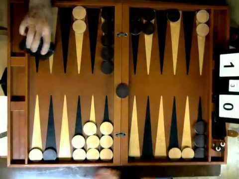 Rod Elwood v Len Jones Backgammon Final Match 12 11 15
