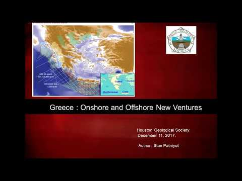 Stan Patniyot: Greece Exploration Overview