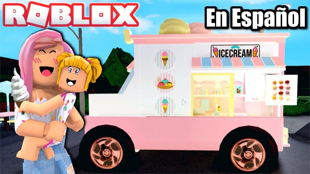 Goldie Tiene Nuevo Camion de Helados en Bloxburg - Roblox Titi Juegos