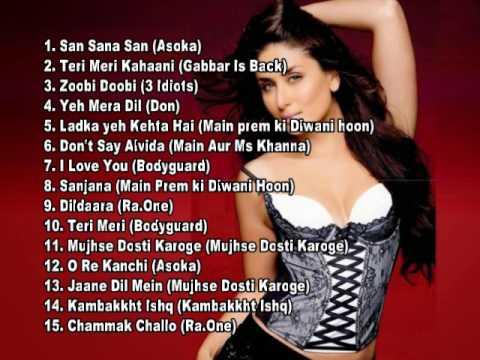 Kareena Kapoor Best Collections Jukebox Vol. 1