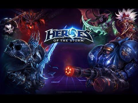 видео: heroes of the storm обзор игры , первые шаги