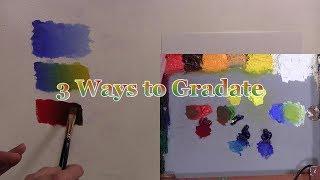Quick Tip 236 - 3 Ways to Gradate