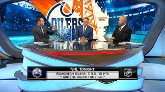 NHL Tonight:  Oilers Hot Start:  The crew discusses if the Oilers are for real  Oct 14,  2019
