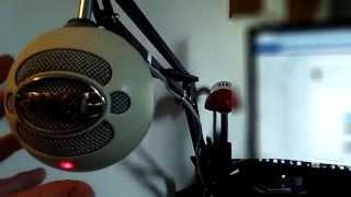 Broadcast Studio Microphone Suspension Arm Stand For My Blue Snowball Mic