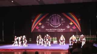 Midwest Cheer Elite Toledo - All Girl Large Senior 3 Pumas - March 2013