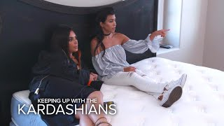 KUWTK | Kim and Kourtney Kardashian Plan Rob's Nursery | E!