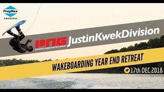 PNG Justin Kwek Division Wake Boarding Retreat