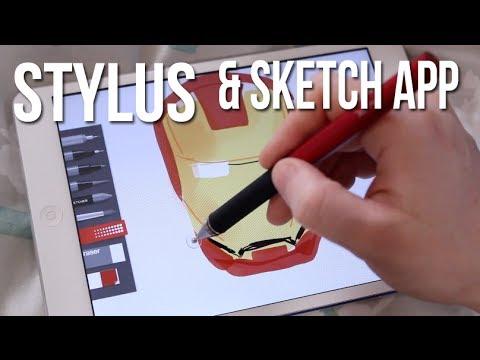 Best Tablet Stylus Sketching App Youtube