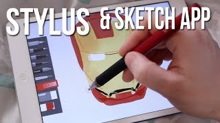 BEST TABLET STYLUS & SKETCHING APP