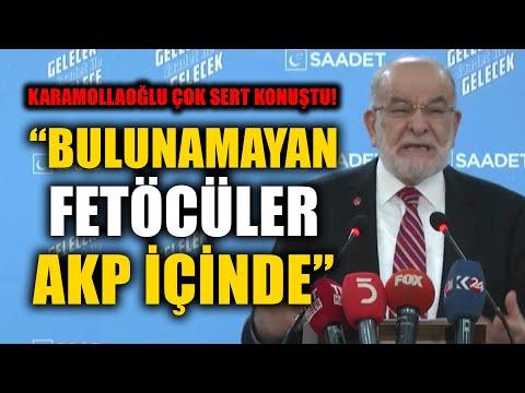 Temel Karamollaoğlu: Bulunamayan Fetöcüler Ak Parti İçinde