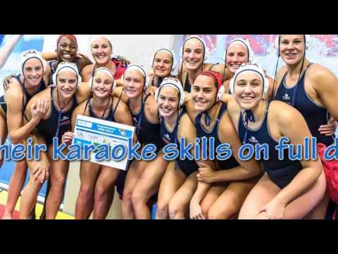 Team USA swimmers show off karaoke skills