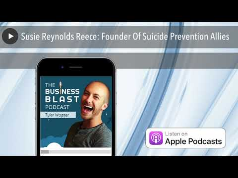 Susie Reynolds Reece: Founder Of Suicide Prevention Allies ...