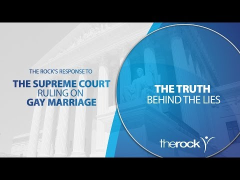 The Rock's Response to the Supreme Court Ruling on Gay Marriage