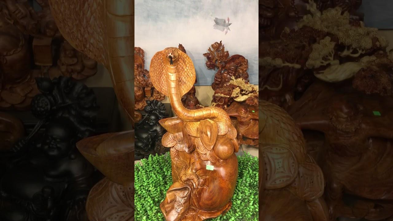 Ý nghĩa phong thuỷ của tượng rắn? Chơi tượng rắn là lành hay dữ?- tuonggodocdao.com- 0938.410.333