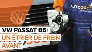 Montage Étrier De Frein arrière + avant VW PASSAT Variant (3B5) : vidéo gratuit